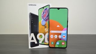 Samsung Galaxy A90 - топовый смартфон, с топовыми параметрами!