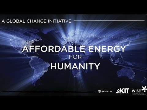Affordable Energy for Humanity: If Not Now, When?