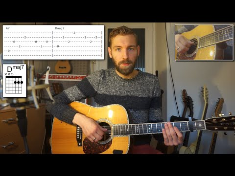 Adele  Million Years Ago Guitar Tutorial  How to Play  Chords and TABS