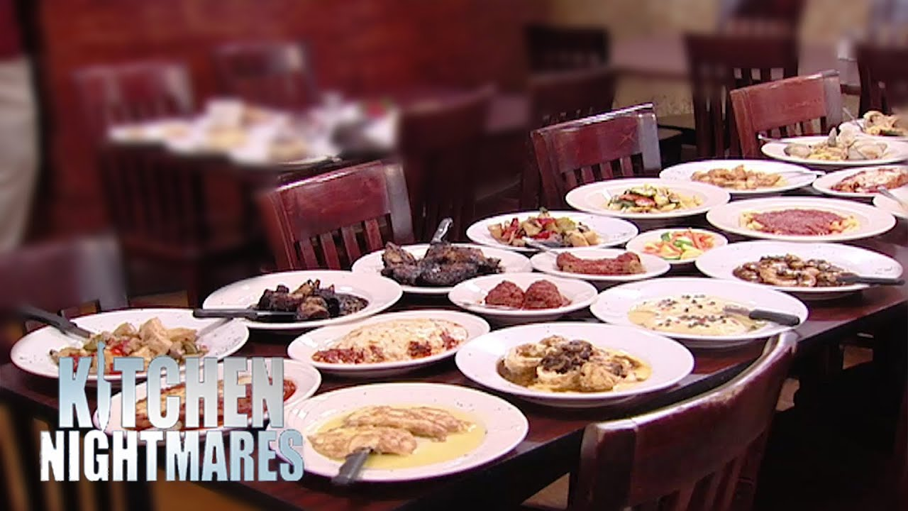 Gordon orders every dish on the menu kitchen nightmares for Q kitchen nightmares