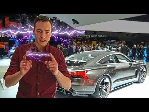 Электро Audi, который Я ЖДУ БОЛЬШЕ ВСЕГО! eTron GT