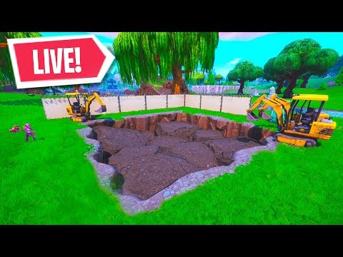 *NEW* FORTNITE LOOT LAKE RUIN EVENT is NOW! LIVE LOOT LAKE DIG SITE EVENT (Fortnite Battle Royale)