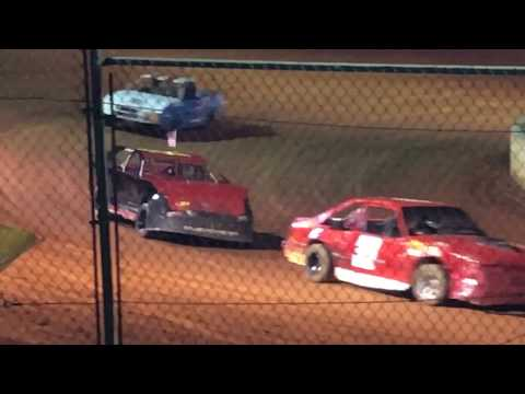 09/02/2017 East Lincoln Speedway Stock 4 Feature. #99 Hilton 10th