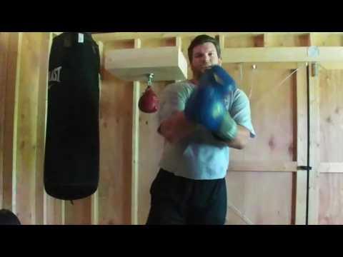 Punching Bag and Speed Bag work