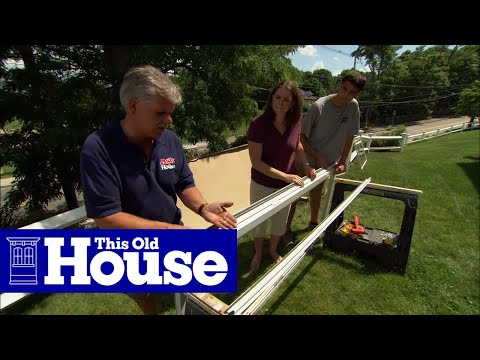 How To Install A New Storm Door In An Old Opening This Old House Youtube