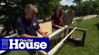 How To Install A New Storm Door In An Old Opening - This Old House