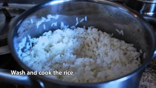 Curry On Keep Calm - Recipe For Spiced Rice