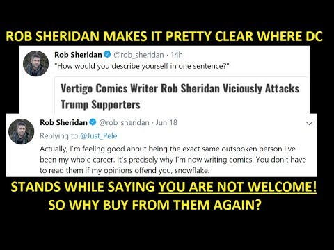 Rob Sheridan Speaks For DC/ Vertigo, Reinforcing Concerns About Why A LAbel Would Adopt Zoe Quinn