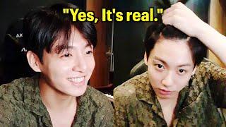 Jungkook Confirms Eyebrow Piercing Is Real   BTS 방탄소년단 정국 VL…