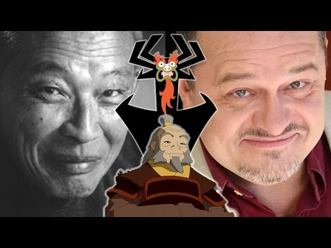 Iroh & Aku Voice Comparisons - (Mako Iwamatsu & Greg Baldwin)