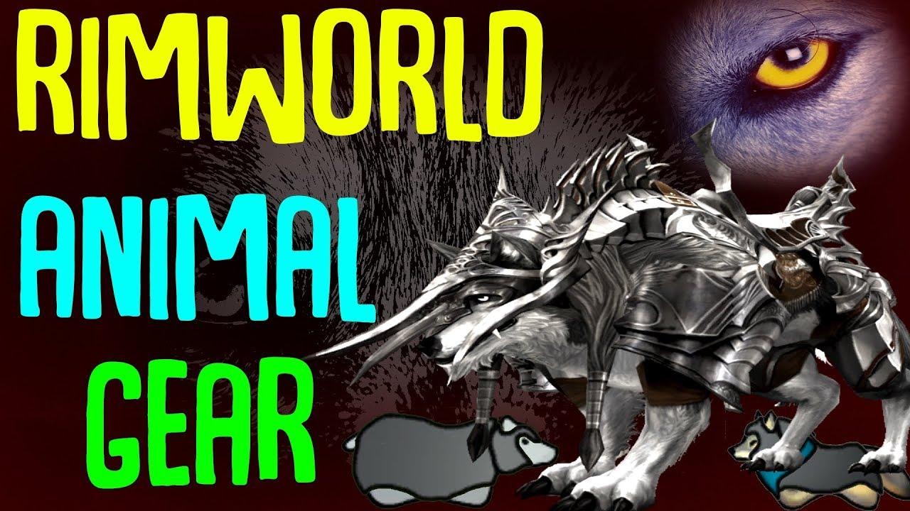 Animal Gear! Armor up your animals! Rimworld Mod Showcase