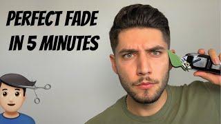 Perfect Fade Self-Haircut Iฑ 5 Minutes | How To Cut Men's Hair 2021