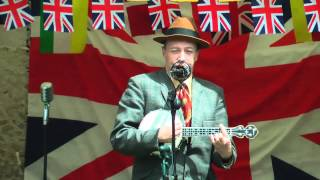 George Formby - I'm Leaning on a Lamp Post - Armed Forces and Veterans Day 2012