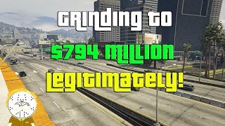 GTA Online Grinding To $794 Million Legitimately And Helping Subs