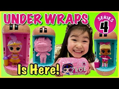 LOL Surprise Doll Series 4 Under Wraps Suite Sweet Princess no capsule opened