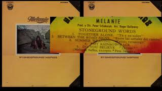 Melanie 1972 Stoneground words FTS