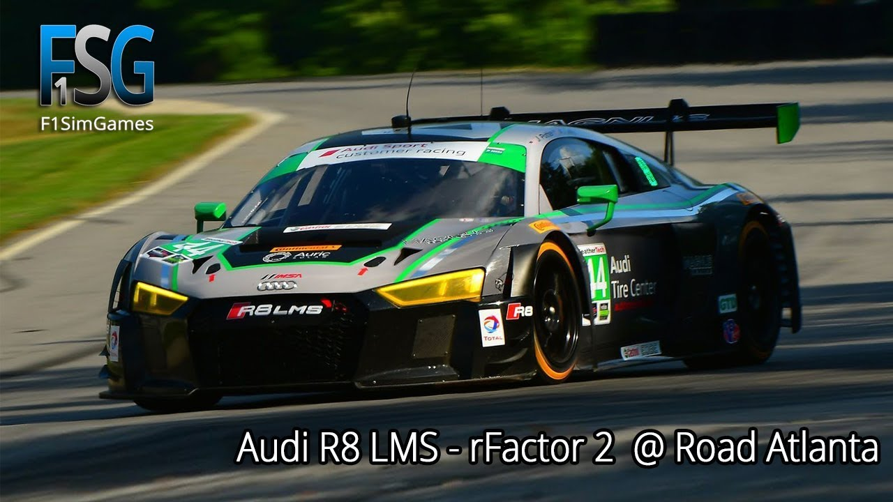 Audi R8 LMS SimHUB Dash for rFactor 2 GT3 Challengers pack