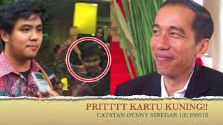 Denny Siregar - PRITTTT KARTU KUNING!!