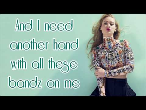 Iggy Azalea - Beg For It (feat. MØ) Lyrics On Screen HQ (from RECLASSIFIED)