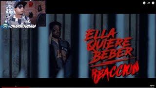 Anuel AA - Quiere Beber (Video Oficial) - Reaccion