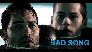 Teen Wolf- Stiles and Derek, sad song