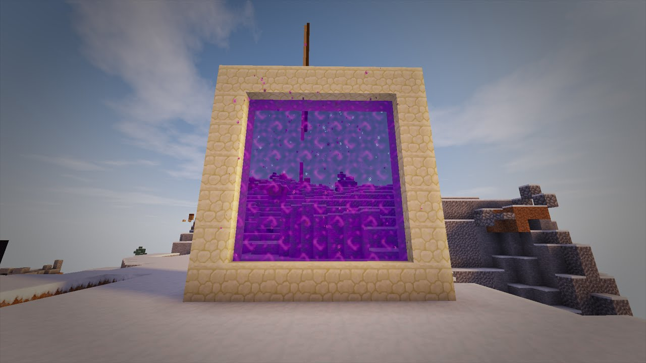 Minecraft how to make a portal to real life no mods youtube gumiabroncs Gallery