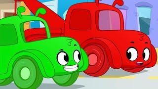 Morphle vs Orphle as Tow Trucks + More Cartoons For Kids   My Magic Tow Trucks   Morphle vs Orphle