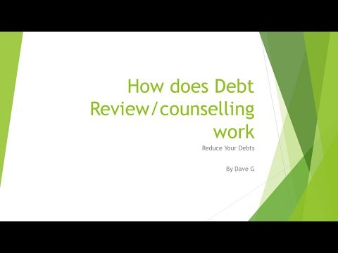 How does debt review work