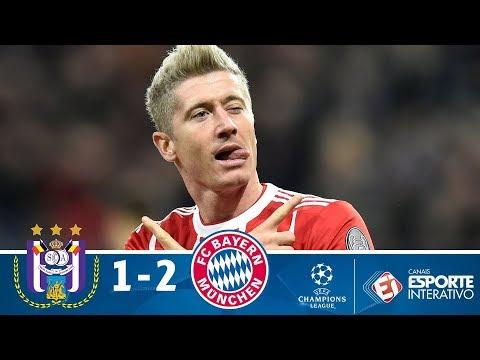 Melhores momentos - Anderlecht 1x2 Bayern de Munique - Champions League (22/11/2017)