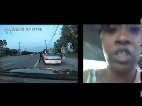 Officer Yanez' squad car video, side-by-side with Diamond Reynolds' Facebook video
