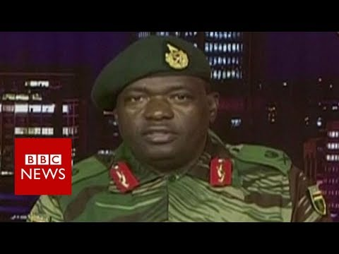 Zimbabwe's military seizes state TV - BBC News