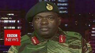 Zimbabwe's military seizes state TV - BBC News