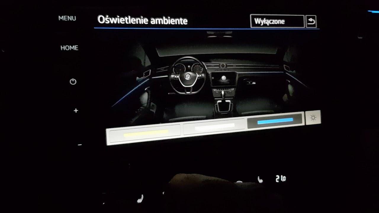 Volkswagen Arteon Ambiente Lighting 3 Colors Led