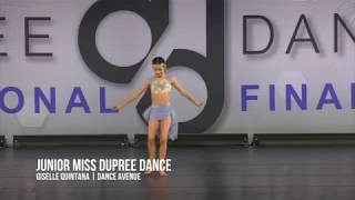 JUNIOR MISS DUPREE DANCE 2018 | Giselle Quintana