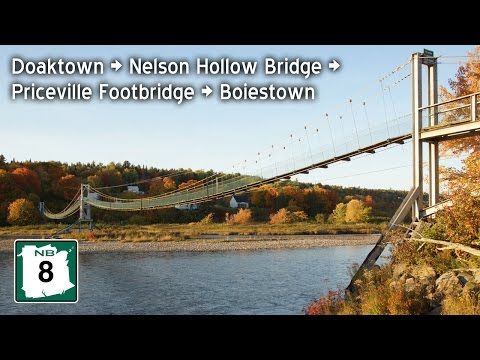 Drive to Nelson Hollow Covered Bridge & Priceville Footbridge