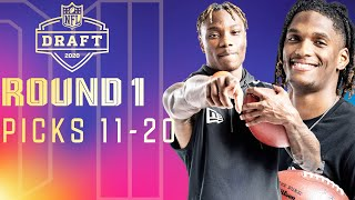 Picks 11-20: Raiders Surprise Everyone, the First Trade, & More! | 2020 NFL Draft