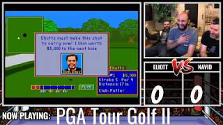 Eliott vs. Navid Season 1, Part 1. PGA Tour Golf II, Devil Dice, Bushido Blade