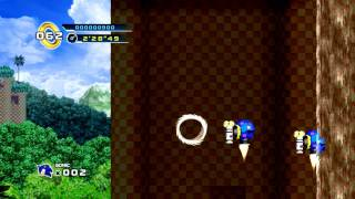Sonic the Hedgehog 4: Episode 1 PC Gameplay [HD 720p]