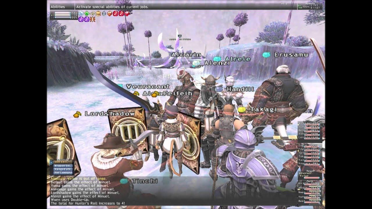 Final Fantasy XI - Absolute Virtue Defeated / Ragnarok Server