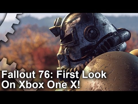 Fallout 76 targeting native 4K resolution on Xbox One X