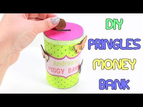 DIY Pringles Piggy Bank | Easy To Make Pringles Money Bank