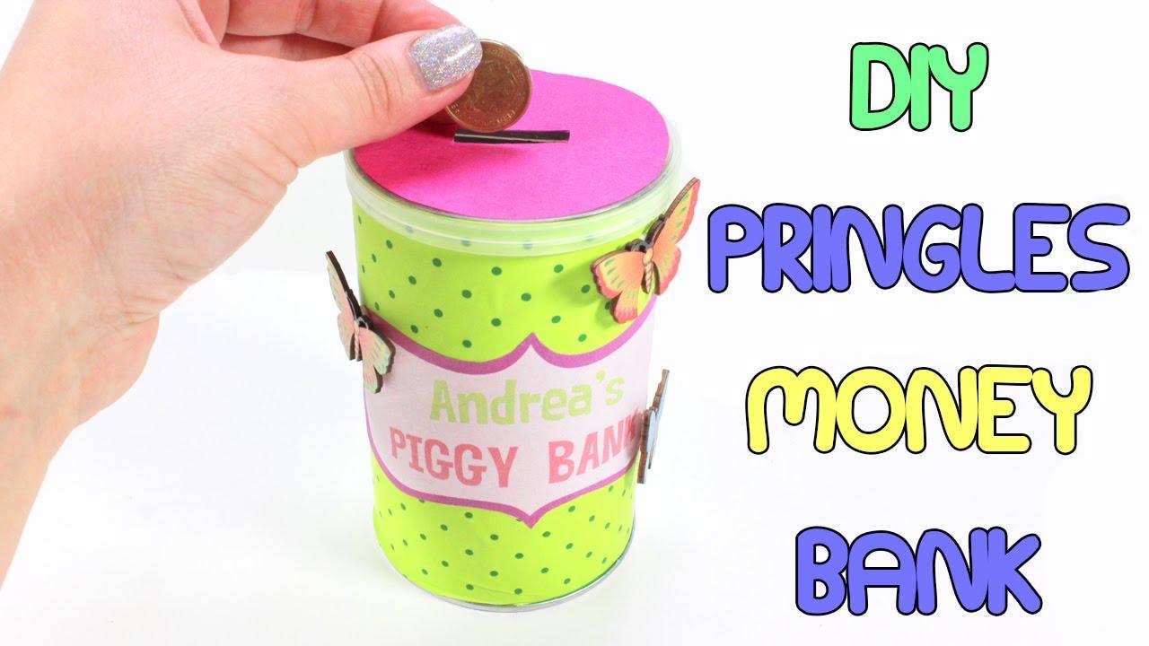 Diy Pringles Piggy Bank Easy To Make Money