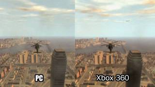 [HD] GTA 4 IV Compare: Xbox VS. PC VS. PS3 Trailer 720p: HD Audio 192Kb