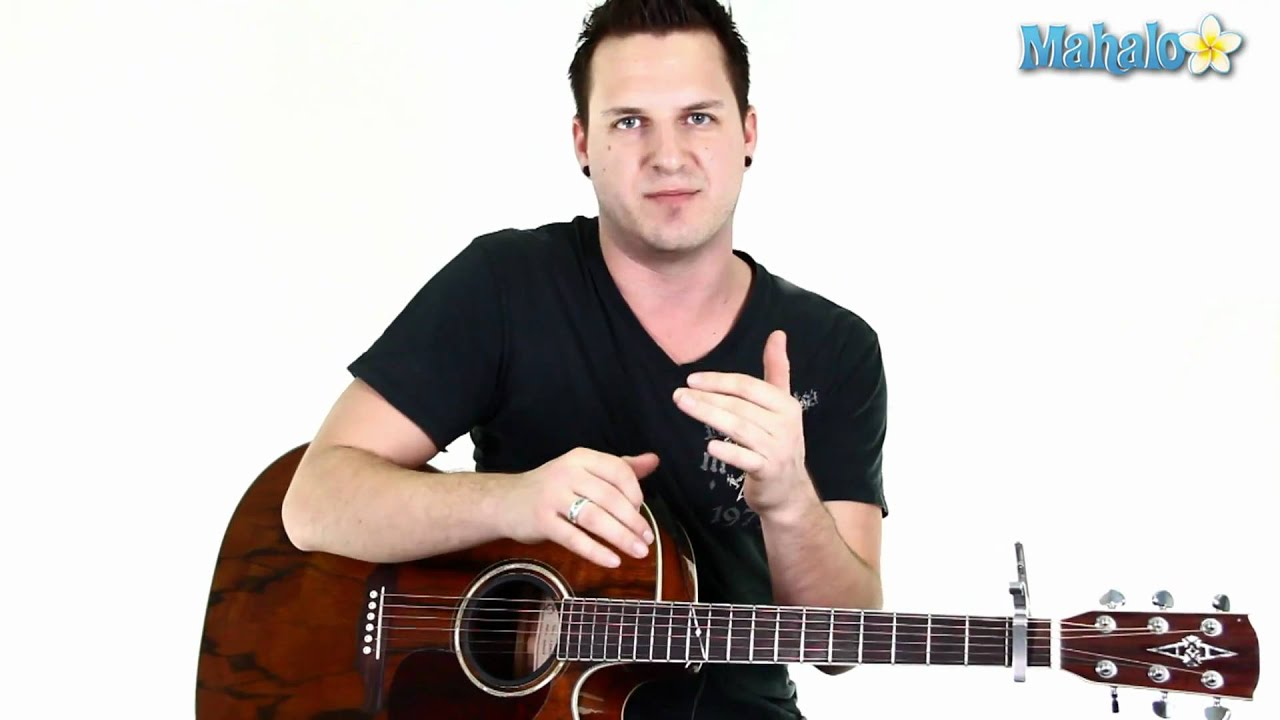 How To Play What Hurts The Most By Rascal Flatts On Guitar Chorus