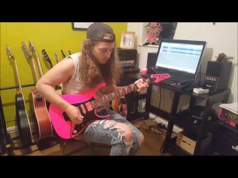 Alex5000 plays entire 1st Van Halen album in 1 take