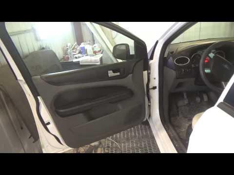 Как снять и установить дверные обшивки, Ford Focus II рестайлинг.