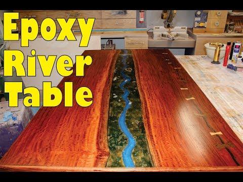 Epoxy River Table Build