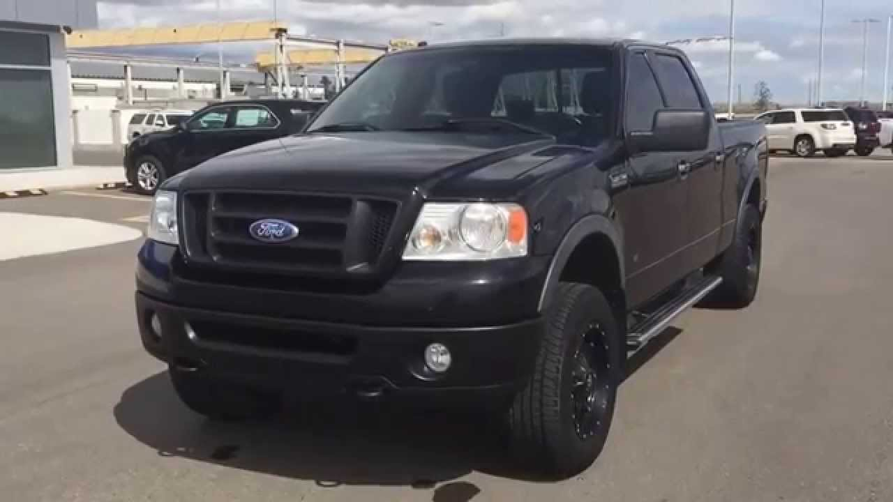 Black 2008 Ford F 150 Fx4 Truck At Scougall Motors In Fort Macleod