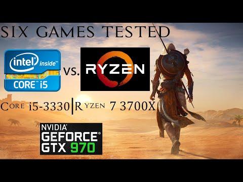 Ryzen 7 3700X vs. Core i5-3330 feat. GTX 970 - 2019