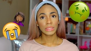 STORYTIME GRWM: THE DAY I ALMOST DIED (Tales from the Sunken Place) ▸ VICKYLOGAN